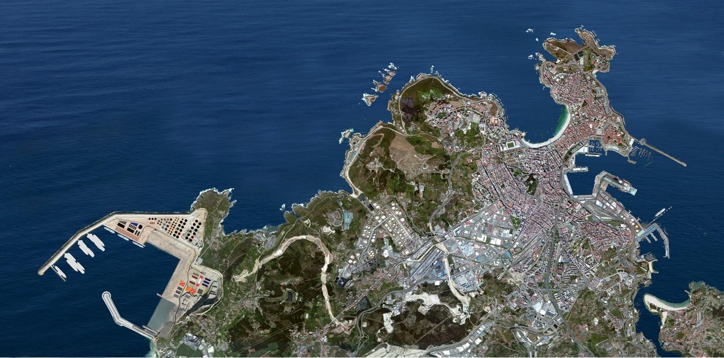 Resultado de imagen de puerto de langosteira